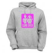 game-over-hoodie-graumeliert-pink