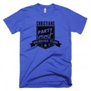 party-drinking-team-blau-schwarz