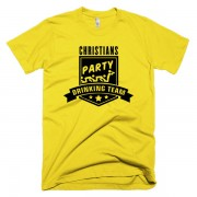 party-drinking-team-gelb-schwarz
