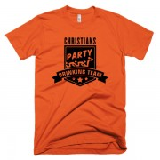 party-drinking-team-orange-schwarz