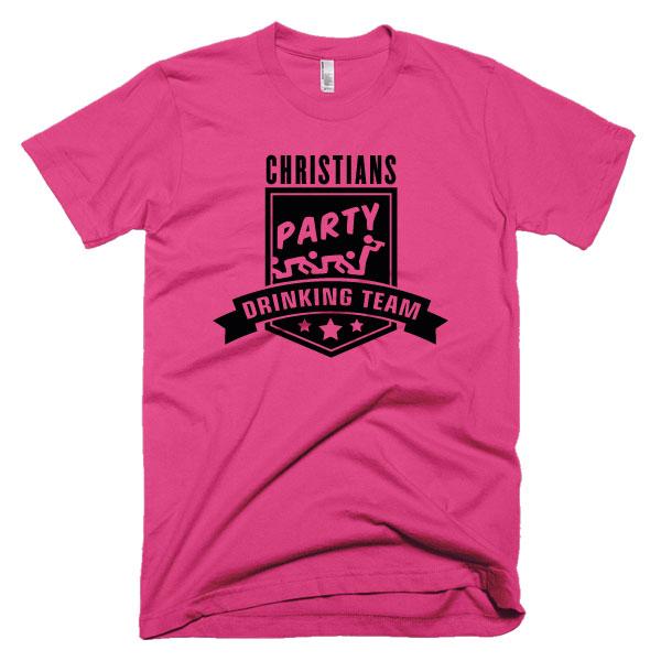 party-drinking-team-pink-schwarz
