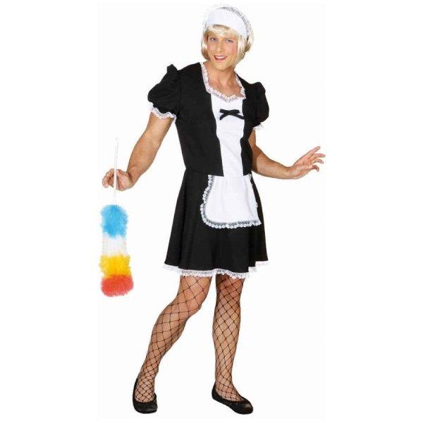 Sexy-Zimmermädchen-Kostüm-für-Herren