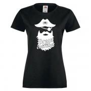 T-Shirt-damen-schwarz