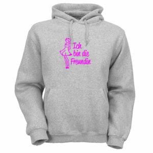 ich-bin-die-freundin-pulli-graumeliert-pink