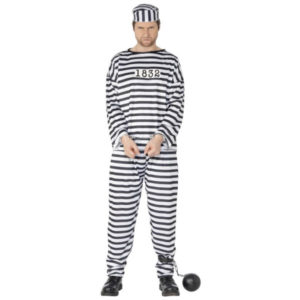 sträflings-junggesellenabschied-kostüm