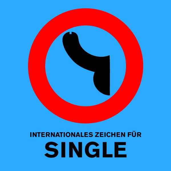 internationales-zeichen-fuer-single