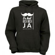 er-hab-auch-noch-ja-gesagt-hoodie-schwarz
