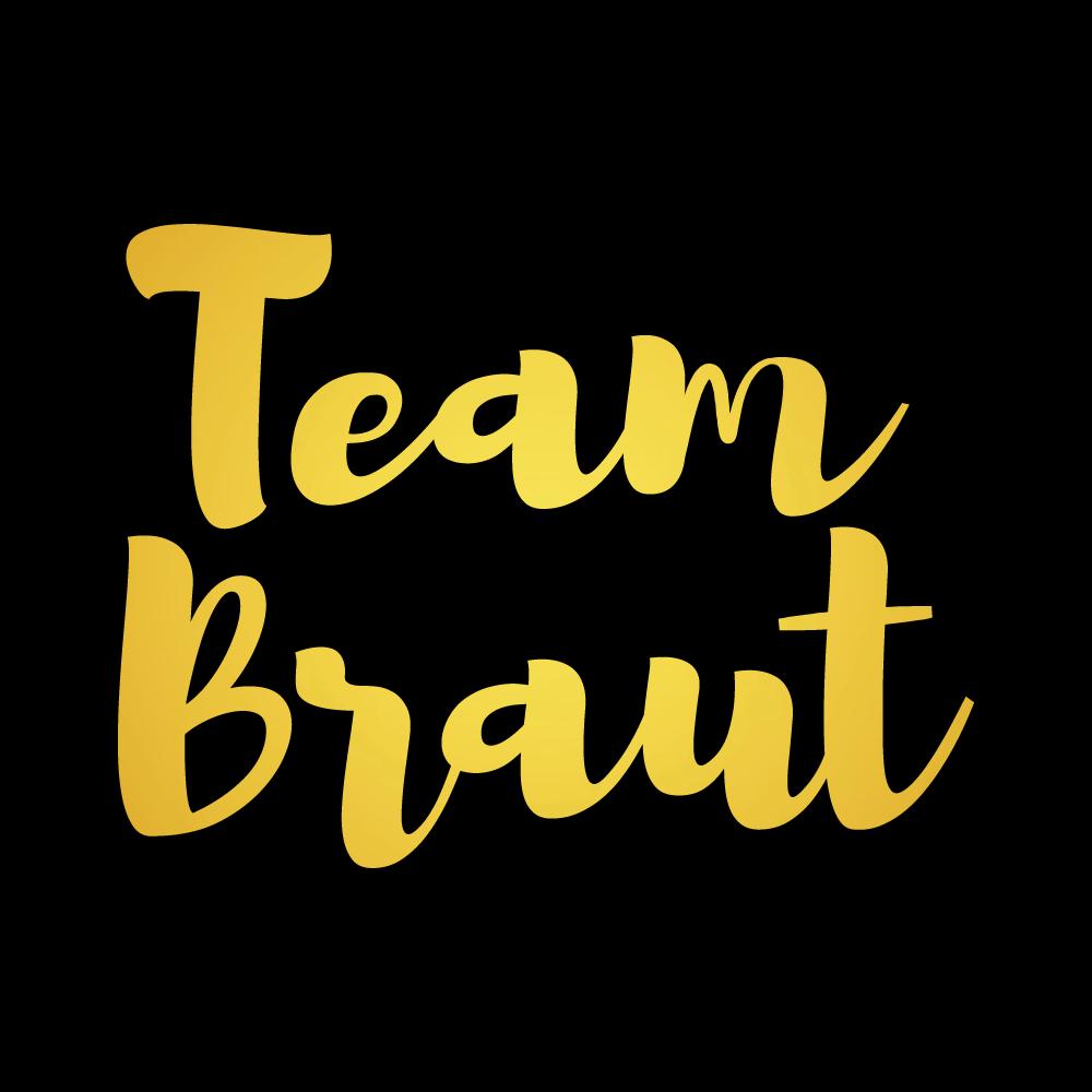 Team-Braut-Schrift-junggesellinnenabschied-Shirt